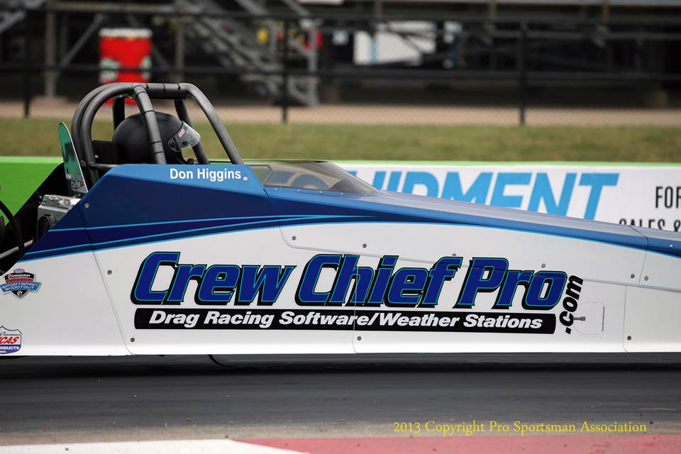 Crew Chief Pro Drag Racing Software and Professional Weather