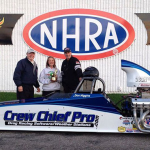 2013 Fall Classic - Crew Chief Pro Americal Dragster in the Winners Circle