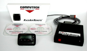Computech Race Air remote Paging available from Crew Chief Pro