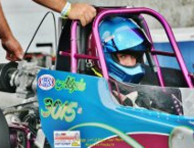 12 year old drag racer may move to pros.