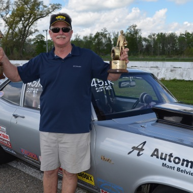 Ray Dew doubles up in Super Street at Jegs Sportsnationals